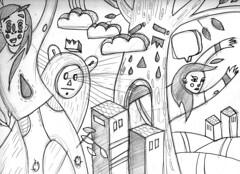 skch (monkitaa) Tags: pencil sketch
