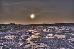 sunset at the beach (emma tainsh) Tags: winter sunset beach rockpools