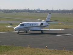CS-DXC Cessna Citation 560XL NetJets (Aircaft @ Gloucestershire Airport By James) Tags: james airport gloucestershire cessna lloyds citation netjets bizjet 560xl csdxc egbj