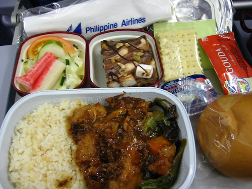 PAL airline meal