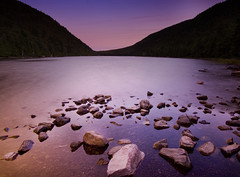 Deep purple (IrenaS) Tags: pink nature water landscape pond bravo purple maine acadianationalpark magicdonkey abigfave ostrellina