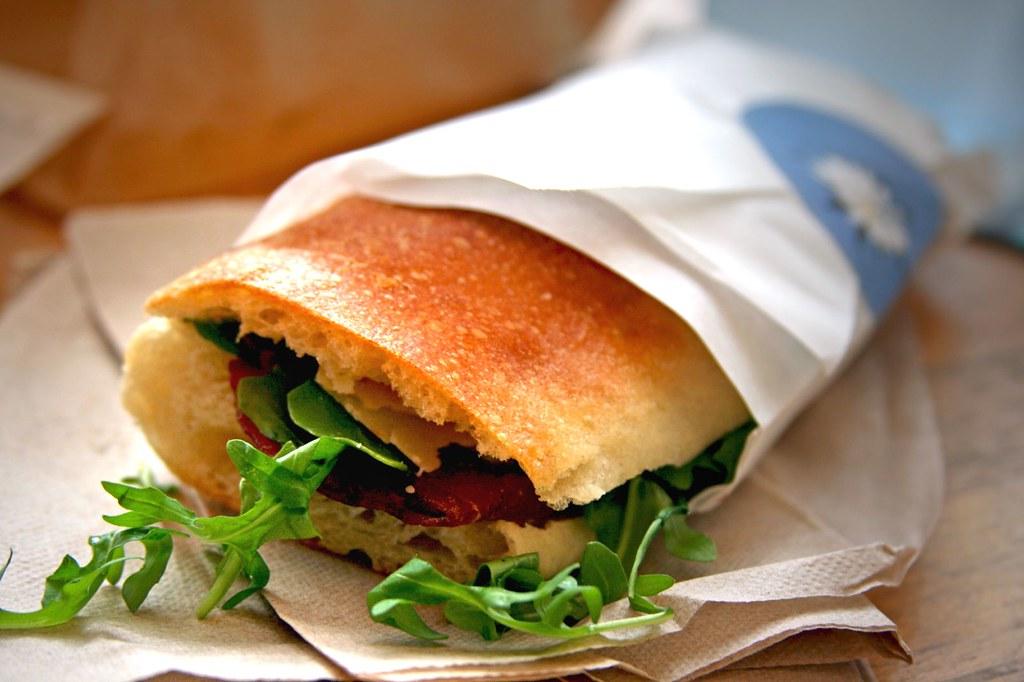 My Bresaola Sandwich