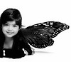 .Butterfly. (mylaphotography) Tags: bw fairytale butterfly hair wings toddler monarch rahi jaber 40d mylaphotography fairytalephotography