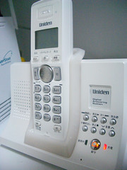 ユニデンの電話