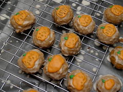 pumpkin spice cookies (nikkicookiebaker) Tags: thanksgiving cookies pumpkin cookie spice decorated