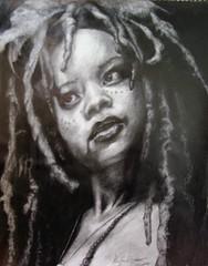 Tia Dalma (KayCee C) Tags: portrait sketch drawing pirates calypso piratesofthecaribbean potc davyjones deadmanschest tiadalma atworldsend