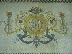 John Wanamaker Mosaic (Harpo42) Tags: philadelphia emblem tile store market centercity mosaic crest historic east pa macys department wanamaker