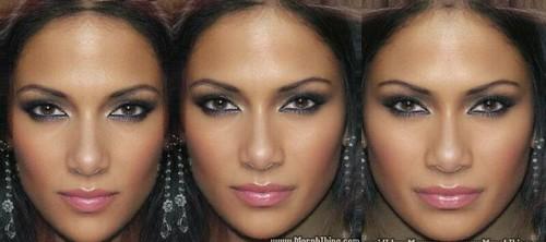 Resultado de imagen de Simetría y asimetría en los rostros humanos