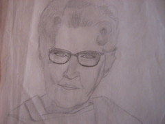 Grandma (Studies in Solitude) Tags: grandma sketch artist historic unknown