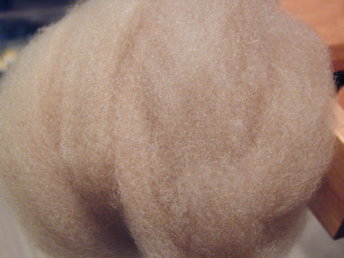 Combed Corriedale Puff