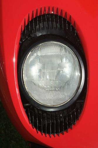 Lamborghini Miura headlight