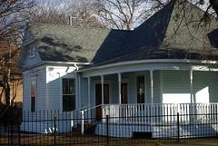 Northwest Corner (arcanericky) Tags: house home architecture bread exterior porch historical ninnie baird 1901 ninia bairds