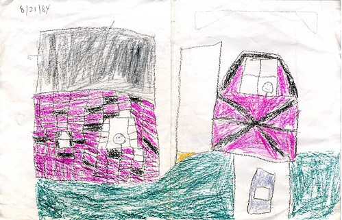My house, according to 5-year-old me