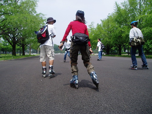 Ueno City Run (Inline skating)