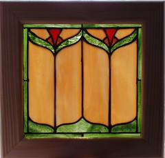 Prairie Style Panel (begginfarmhouse) Tags: art glass panel stainedglass prairiestyle ety stainedglassbylauriebeggin