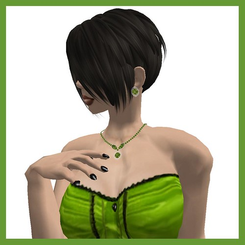 "Second Mirage ""Amelia, Peridot Set"" [10]"