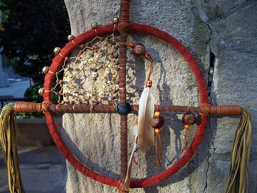 Suede/Leather Medicine Wheel