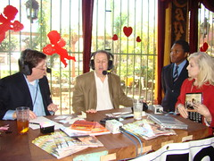 "Kevin Price, Calvin Brown, and Virginia Grace Green Houston Business Show Live Broadcast at ""El Tiempo"" Restaurant (StealthMarketer) Tags: foxnews jennifercolon universityofhouston mikealexander jimoneill andyvaladez stevelevine houstonneighborhoods marketingdynamics bauercollegeofbusiness houstonrealestatetoday carolebaker houstonbusinessshow houstonbusiness businessradio robbieadair donaldleonard virginiagrace joestiles johodell kevinepric"