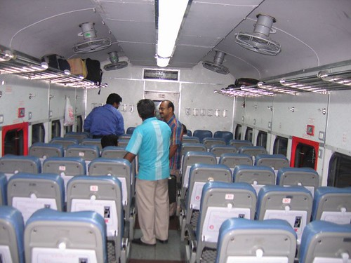 ac chair car swarna shatabdi pictures