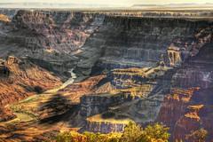 [フリー画像] [自然風景] [峡谷の風景] [岩山の風景] [河川の風景] [グランドキャニオン] [アメリカ風景] [アリゾナ州] [HDR画像]   [フリー素材]