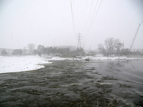 Grand River, 6 February 2008, 5:00pm by John Winkelman, on Flickr