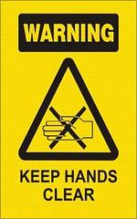 warn_handclear