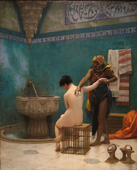 The Bath, circa 1880 - 1885 (Maulleigh) Tags: art museum painting bath san francisco asia honor oriental turkish legion honour the jeanlon grome thegoldenphoenix