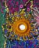 Detail Shisha 3 (Karen Cattoire) Tags: original abstract art handmade embroidery originalart creation fabric fiberart beading bjp tissu abstrait arttextile textiledart karencattoire fibretextile arttexilte