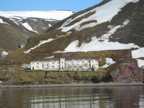 Grumant 2, Svalbard, Arctic Norway