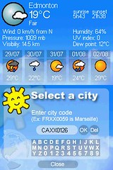 DS Weather Report