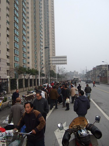 Chinese flea market