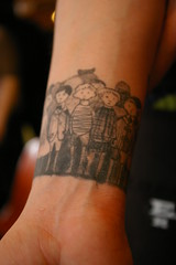 Edward Gorey Tattoo