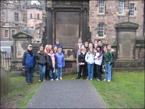 covenanter tour group except those talking to beulah!
