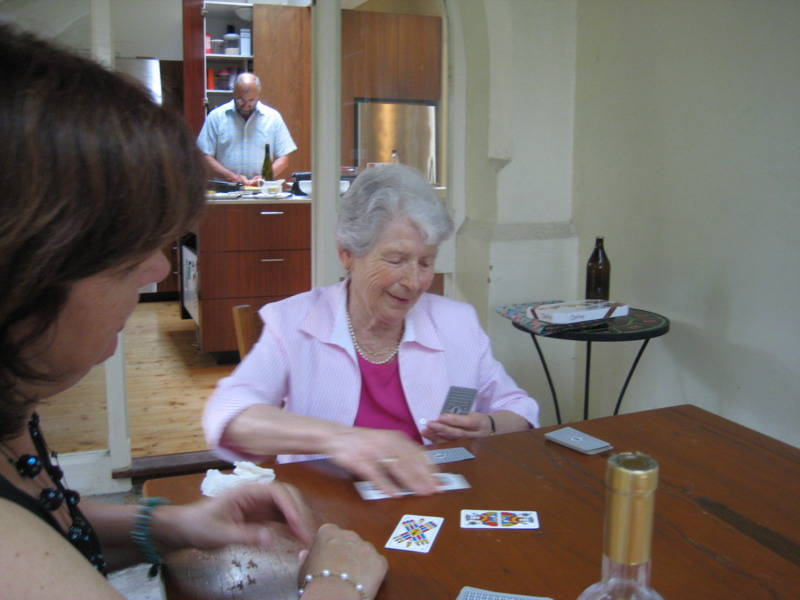 Nonna playing cards