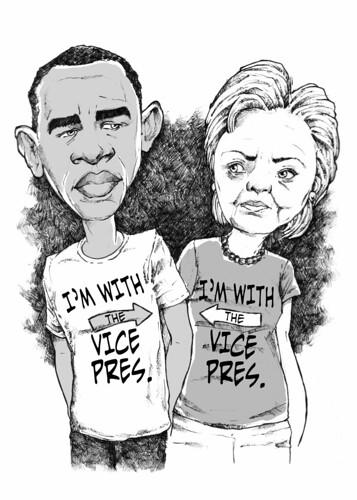 Hillary Clinton vicepresidenta de Obama