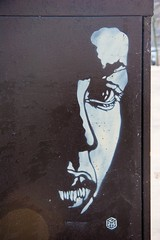 C215 - Paris (un oeil qui trane) Tags: street urban streetart paris france art collage print poster stencil paint peinture affichage carf 75 affiche graffitis everton affiches arrondissements childrenatriskfoundation c215 20