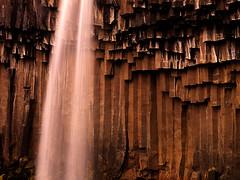 Svartifoss Basalt (Ben  H.) Tags: longexposure water rock landscape waterfall iceland rocks hasselblad basalt svartifoss h3d