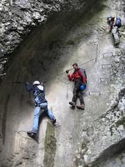 Sentiero attrezzato Sallegoni (ploerr) Tags: rio via ferrata drena tentino sallagoni
