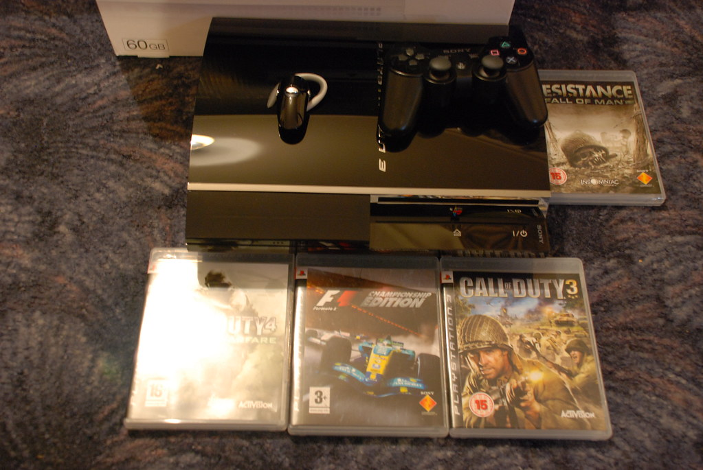The World's most recently posted photos of 60gb and ps3