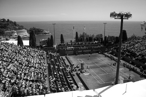 Centre Court at the Monte Carlo Open