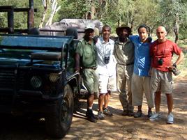 Foto di gruppo a fine Safari