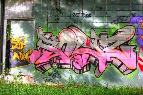 HDR Graffiti Wall - Puerto Rico