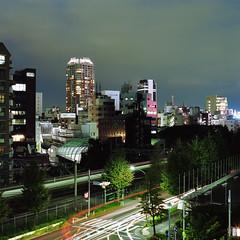 Harajuku view (F_blue) Tags: tokyo kodak shibuya hasselblad harajuku  500cm  portra160nc planart c8028 fblue2008
