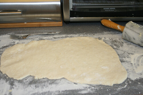 roll the dough