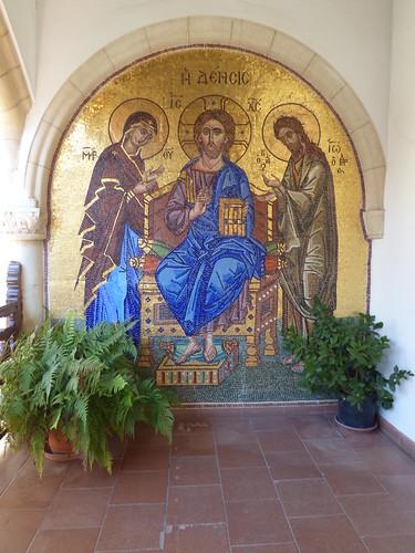 Kykkos Monastery, mosaic