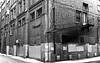 (roughtimes) Tags: 201702151982 copy winnipeg backlane downtown black white fire escape brick