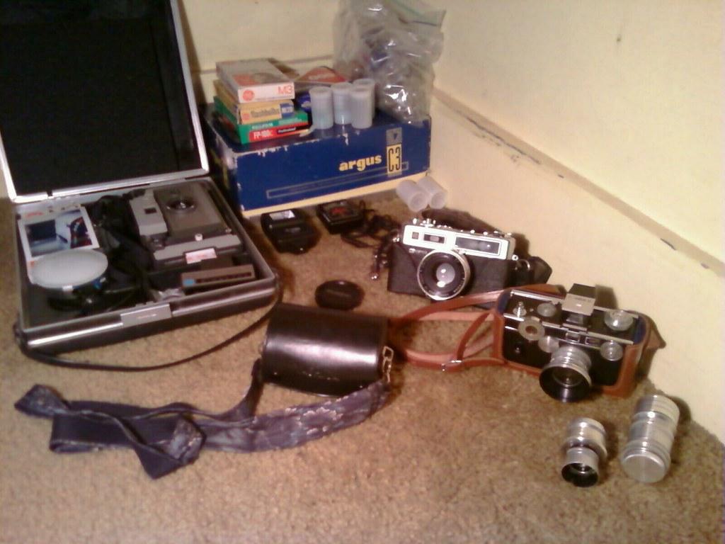 My working cameras