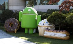 Google Android mascots