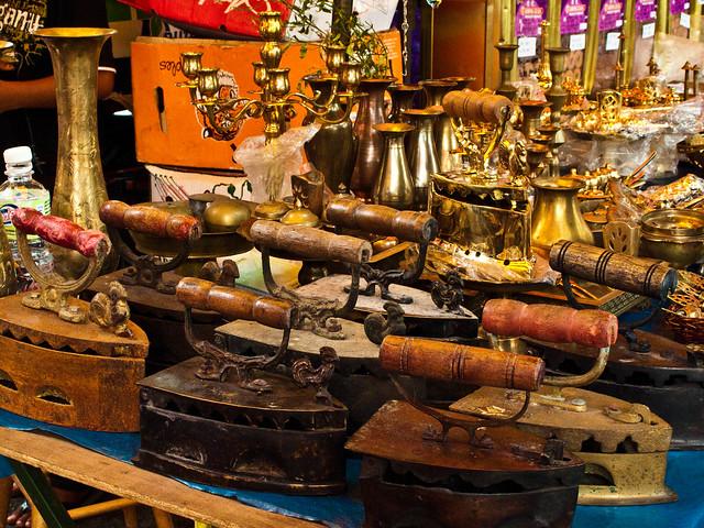 IMG_0629 Antique Irons, Flea market , Penang , 古董熨斗,槟城跳蚤市场