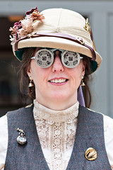 Gaslight Gathering 2011 (Mr. Muggles) Tags: costume san cosplay goggles diego convention gathering chip circuit gaslight microchip steampunk 2011